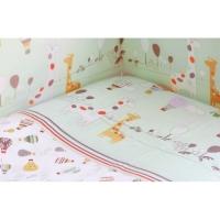 Бортик для кроватки Rabby Baby Лимпопо/зеленый 116403/3