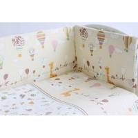 Комплект в кроватку 6 предметов Rabby Baby Лимпопо/бежевый 616403/4