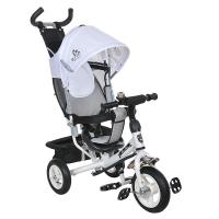 Велосипед на надувных колесах Mini Trike 950D БЕЛЫЙ (аппликация)