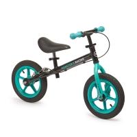 """Беговел с ручным тормозом и надувн. колесами Happy Baby """"U-RUN"""" blue, арт. 50001"""