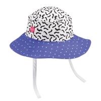 "Панама детская, размер 48 голубая Happy Baby ""SUN HAT"" 50503-48"