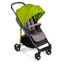 "Прогулочная коляска с чехлом на ножки Happy Baby ""Crossby"" Green"