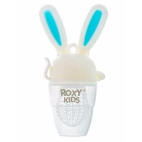 Ниблер для прикорма BUNNY TWIST, ГОЛУБОЙ Roxy kids RFN-005