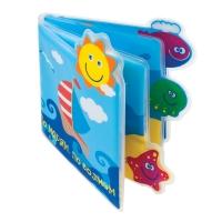 """Игрушка-книжка для ванны """"По морям по волнам"""", Мир детства 27106"""