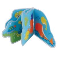 """Игрушка-книжка с пищалкой для ванны """"Подводное путешествие"""", Мир детства 27051"""