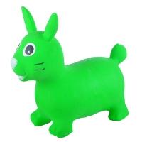 Надувные животные, ЗАЙКА, с насосом, 62х30х50 см, Зеленый, Spring 24