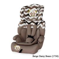 Автокресло Junior plus (от 9 до 36 кг) Бежевый / Beige Daisy Bears 1730