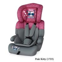 Автокресло Junior plus (от 9 до 36 кг) Серо-розовый / Pink Kitty 1723