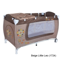 Кровать-манеж Lorelli Danny 2 Бежевый / Beige Little Leo 1724