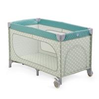 Кровать-манеж складная Happy Baby Martin NEW Blue