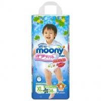 Трусики для мальчиков MOONY, размер XL, 12-17 кг, 38 шт (БЕЗ ДИСНЕЯ)