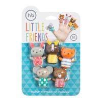 """Набор ПВХ-игрушек для ванной Happy Baby """"Little Friends"""" 32024"""