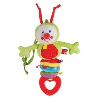 """Подвесная игрушка-растяжка Happy Baby """"Гусеница"""" 330344"""