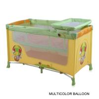 Кровать-манеж Lorelli Nanny 2 Многоцветный/ Multicolor Balloon 1701