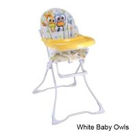 Стульчик для кормления Lorelli Candy Белый / White Baby Owls 1710