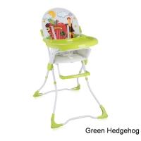 Стульчик для кормления Lorelli Candy Зеленый / Green Hedgehog 1709