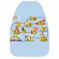 АНТЕЙ Защита от грязных ног с рисунком Цифры ПВХ А-520