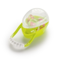 "Контейнер для пустышки ""Pacifier container"" Lime, Happy Baby 11005"
