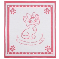 "Плед Лео ""Розовый котенок"" 90х100, 1611"
