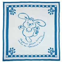 "Плед Лео ""Синий зайчонок"" 90х100, 1611"