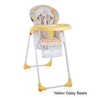 Стульчик для кормления Lorelli Oliver Yellow Daisy Bears 1717
