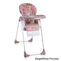 Стульчик для кормления Lorelli Oliver Rose&Beige Princess 1703