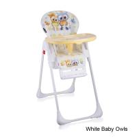 Стульчик для кормления Lorelli Tutti Frutti White Baby Owls 1710