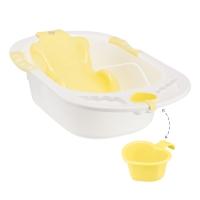 Ванна с анатомической горкой COMFORT желтый, Happy Baby 34005y