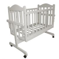 Кровать-колыбель для новорожденных Белый Мой малыш
