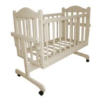 Кровать-колыбель для новорожденных Слоновая кость Мой малыш