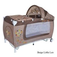 Кровать-манеж с функцией качания Lorelli Danny 2 Rocker Beige Little Leo 1724