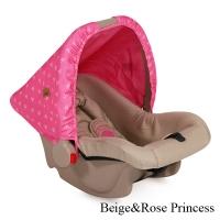 Автокресло Lorelli Bodyguard (0-13 кг) Розово-бежевый / Rose&Beige Princess 1703