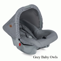 Автокресло Lorelli Bodyguard (0-13 кг) Серый / Grey Baby Owls 1729