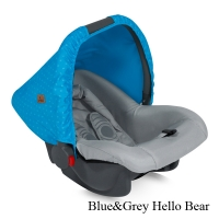 Автокресло Lorelli Bodyguard (0-13 кг) Сине-серый / Blue&Grey Hello Bear 1718
