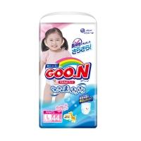 Трусики для девочек Goon (Гун), размер L, от 9 до 14 кг, 44 шт