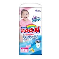 Трусики для девочек Goon (Гун), размер XL, от 12 до 20 кг, 38 шт