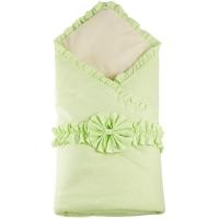 "Одеяло на выписку, бант на резинке ""Горошки"" арт. ST6891, Stiony"