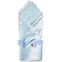"Одеяло на выписку, бант на резинке ""Атлас"" арт. ST6895, Stiony"