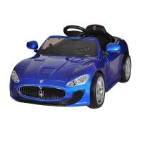 Электромобиль MASERATI QUATTROPORTE, лицензия, 12V/7Ah, синий PAINTED BLUE