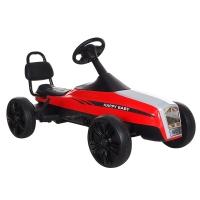 Педальный Картинг ANHUITECH РОЛС, 3-8 лет, колеса EVA, красно-черный