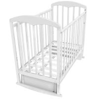 Кровать с поперечным маятником ФЕЯ 324 Белый