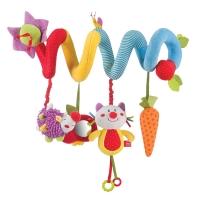 Развивающая игрушка-спираль Happy Baby Pretty Garden 330345