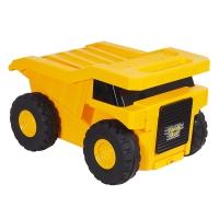 Игрушка-чемодан SAIPO КАРЬЕРНЫЙ ТРАК, Желтый