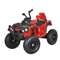 Электро-Квадроцикл ZHEHUA BDM-0906 12V/10Ah, 35W*2, надувные колеса, красный RED