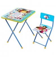 """Набор мебели МАША И МЕДВЕДЬ """"АЗБУКА 2"""" (стол + мяг стул) НИКА КП2/2"""