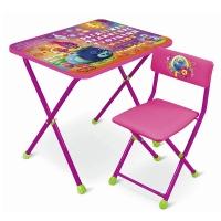 Набор мебели Trolls (стол +мягк. стул) НИКА T-1