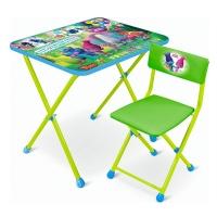 Набор мебели Trolls (стол +мягк. стул) НИКА T-2