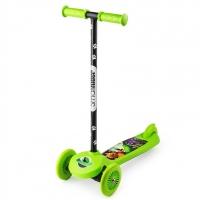 Трехколесный самокат Small Rider Scooter Cosmic ZOO (зеленый)