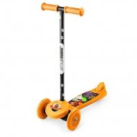 Трехколесный самокат Small Rider Scooter Cosmic ZOO (оранжевый)