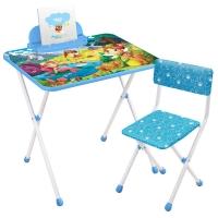 Набор мебели Волшебный мир принцесс (стол + мяг стул) h580 НИКА КП2/16